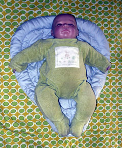 Baby on Heart-2-Heart insert