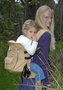 ergo backpack carry