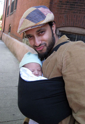Sling Stories New Dad S Perspective On Baby Carriers