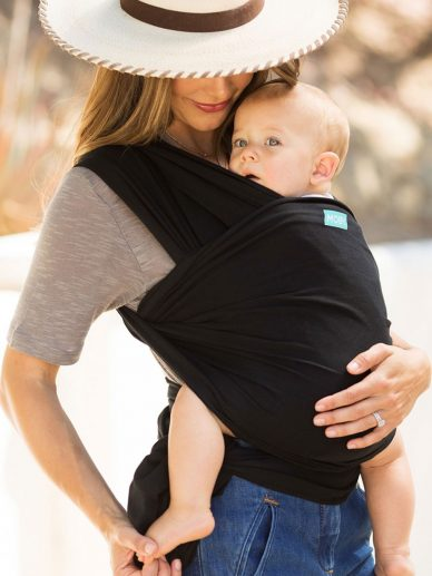 Black Moby Wrap Evolution | Moby Wrap Baby Wrap