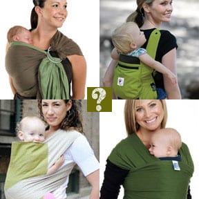 How to get started choosing the right baby carrier