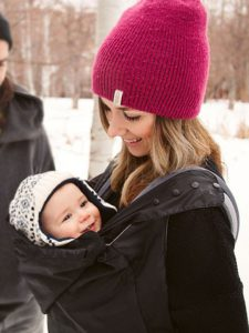 9f0f7e52c80 Tips For Wearing Your Baby In Cold Weather And Winter - Carry Me Away