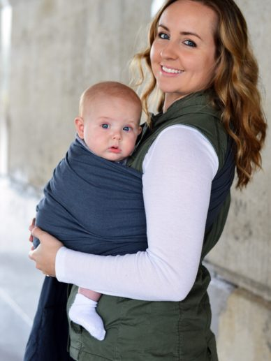 Graphite Maya Wrap Ring Sling