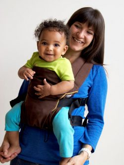 Cafe au Lait Pikkolo Baby Carrier|Catbird Baby
