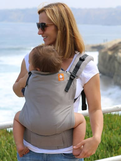Cloudy Tula Light Gray Carrier And Hood