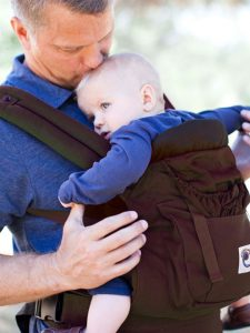 Dark Chocolate Organic Bundle | Ergobaby Carrier Bundle of Joy