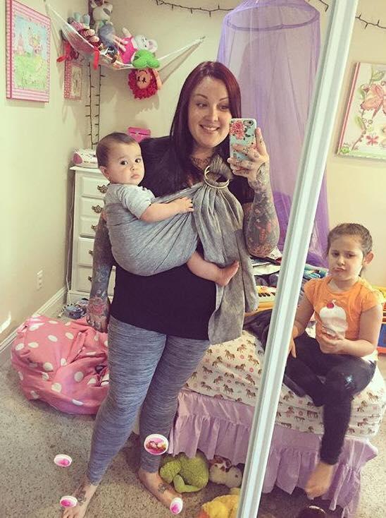 Monica Corn, CMAs babywearing maven