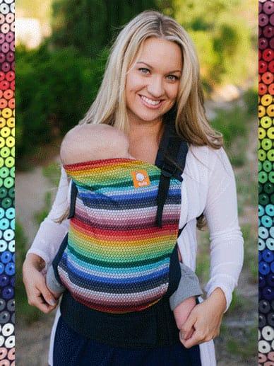 Rainbow Gems Tula Carrier |Tula Baby Carrier Tula Toddler Carrier