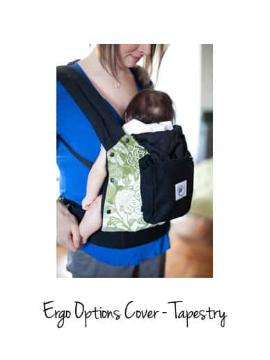 tapestry cover for ergo options carrierergobaby carrier accessories - Carrier Cover