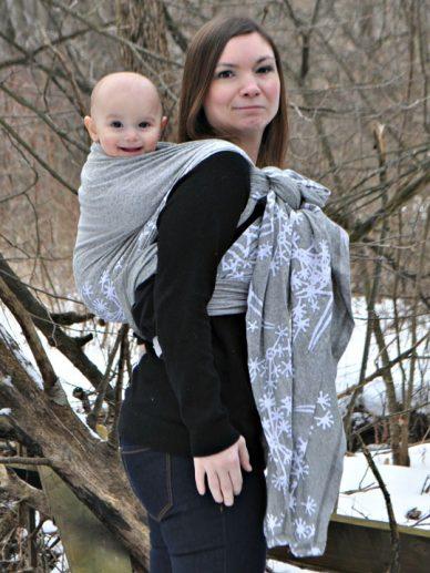 Asha Wrapsody Stretch Hybrid Baby Wrap
