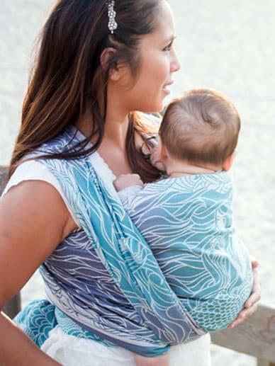 Lorelei Anthias Tula Cotton Wrap|Tula Woven Wraps