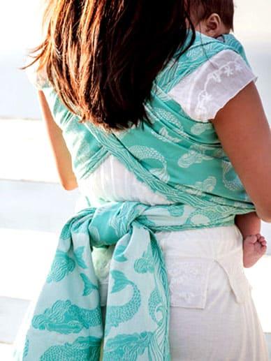 Naida Lagoon Tula Cotton Wrap|Tula Woven Wraps