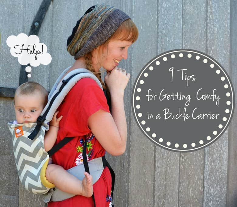 9 tips for getting comfy in your Buckle Carrier |Tula|Ergo