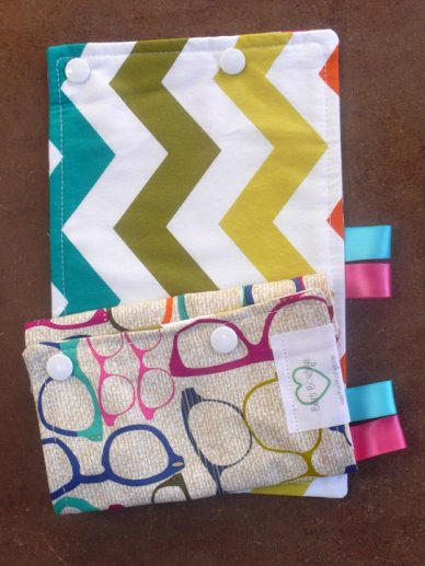 20/20 -Chevron Green Suck Pads|Barti Boutique Teething Pads