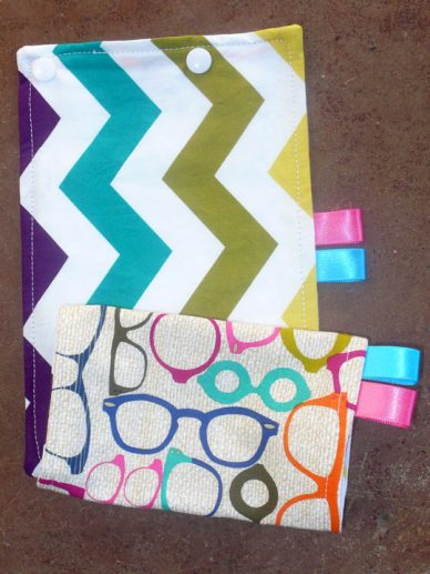 20/20 -Chevron Teal Suck Pads|Barti Boutique Teething Pads