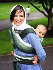 Alyssa Wrapsody Hybrid Wrap | Wrapsody Baby Wraps