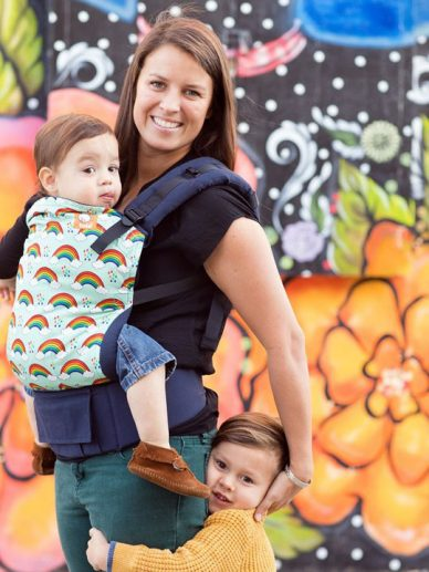Rainbow Showers Tula | Tula Baby Carriers |Tula Toddler Carriers