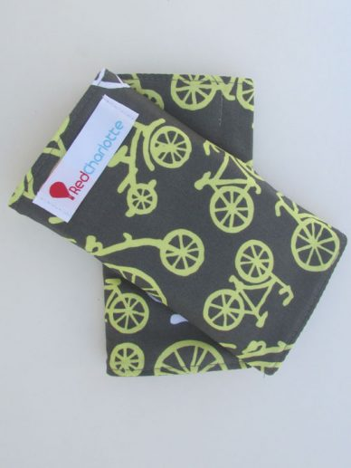 Citron Bicycle Red Charlotte suck pads