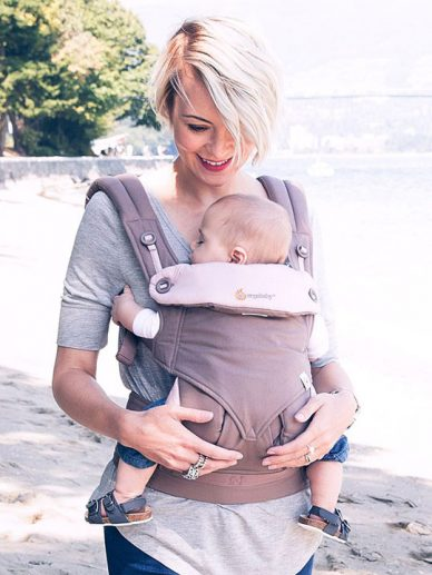 Taupe/Lilac Ergobaby 360|Ergo Baby Carriers