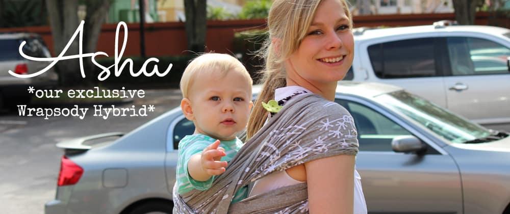 Asha Wrapsody Hybrid Baby Wrap