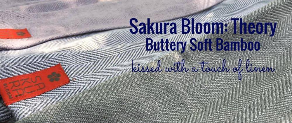 Sakura Bloom Theory |Sakura Bloom bamboo ring slings