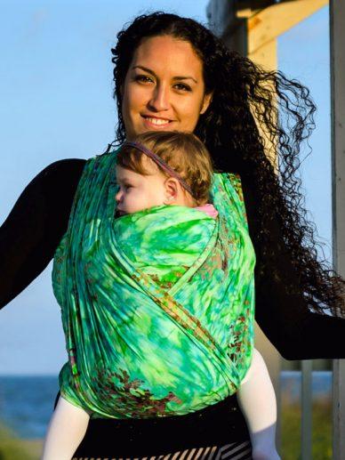 Zoe Wrapsody Stretch Hybrid Baby Wrap | Wrapsody Hybrid wrap | Wrapsody Baby Wraps