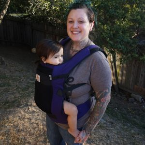 Summer Baby Carriers | Ergobaby Peformance Ventus Purple