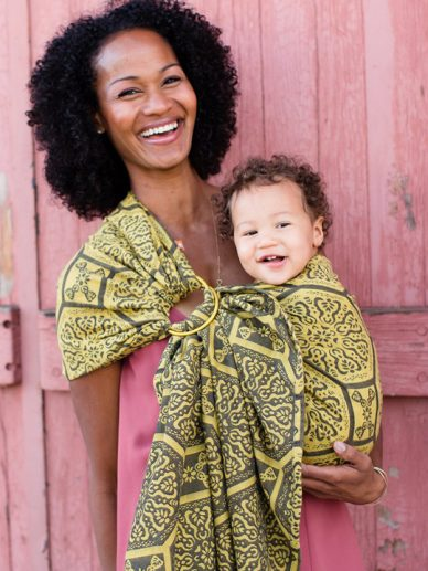 Lalka Citrine Tula Ring Sling | Tula Ring Slings | Wrap Conversion Ring Sling
