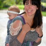Back carry in the Lily Wrapsody Breeze|Wrapsody Breeze review