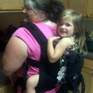 best baby carrier for plus-size - buckle carrier