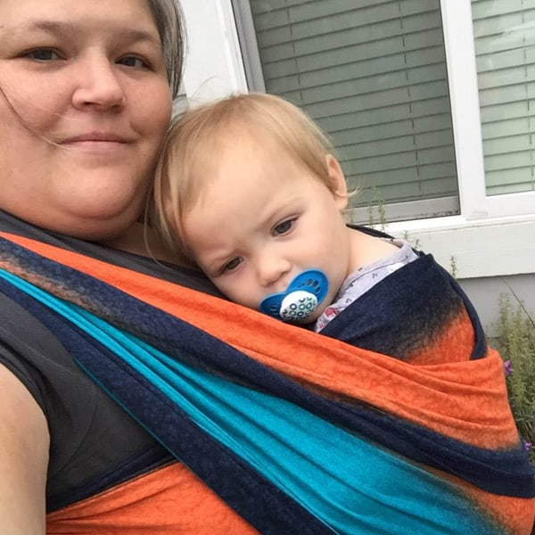 best baby carrier for plus-size - wrap