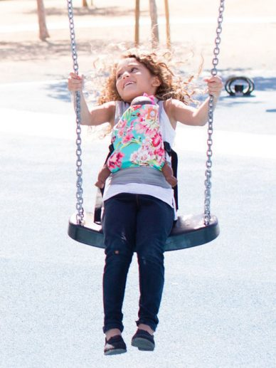 Bliss Bouquet Tula Mini Doll Carrier | Tula Mini Doll Carrier | Children's Doll Carriers
