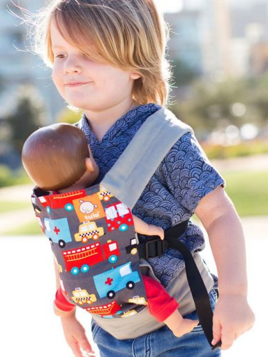 Look for Helpers Tula Mini Doll Carrier | Tula Mini Doll Carrier | Children's Doll Carriers