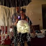 Halloween Babywearing Costumes 2016:Stormcloud and Rain by Stacey Dukes