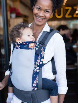 Coast Foxgloves | Tula Coast Carrier | Tula Baby Carrier | Tula Coast Toddler Carriers | Baby Carriers for Hot Weather