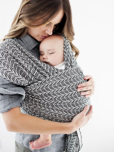 Starry Nights of Salvador Moby Wrap Evolution Bamboo | Petunia Picklebottom Moby Wraps