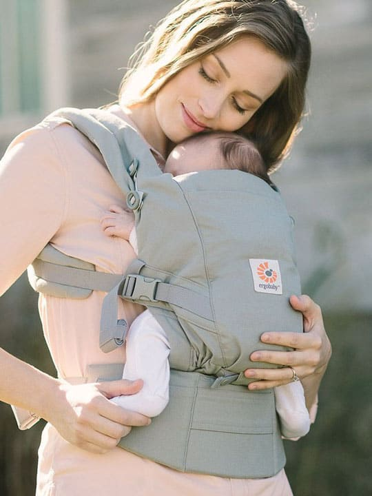 5897e83e677 Ergobaby Adapt Baby Carrier - perfect for newborns through toddlerhood! -  Carry Me Away