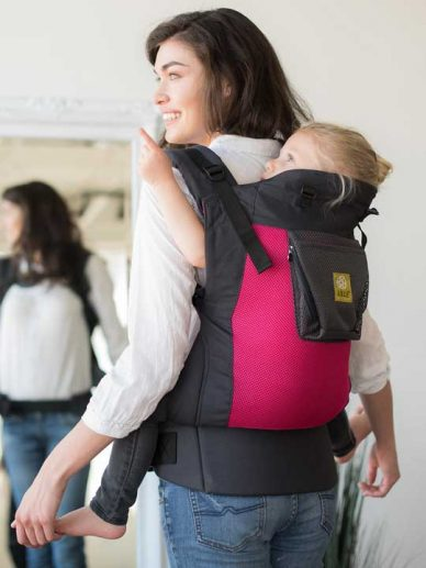 Charcoal-Berry Carry On Air Lillebaby | Lillebaby Carry On Toddler | Toddler Carriers