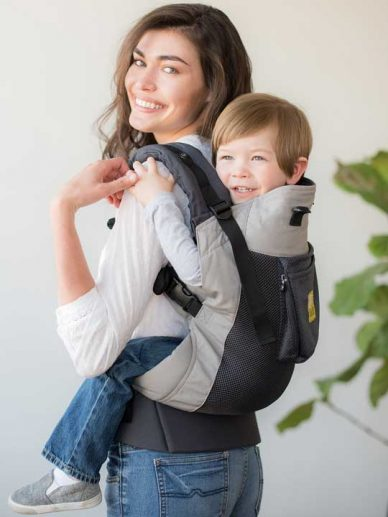 Charcoal Silver Carry On Air Lillebaby | Lillebaby Carry On Toddler | Toddler Carriers