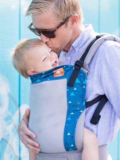 Coast Blue Peaks | Tula Coast Carrier | Tula Baby Carrier | Tula Coast Toddler Carriers | Baby Carriers for Hot Weather