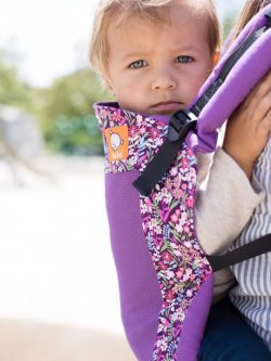 Coast Hyacinth Tula | Tula Coast Carrier | Tula Baby Carrier | Tula Toddler Carriers | Baby Carriers for Hot Weather