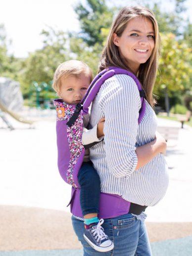 Coast Hyacinth Tula | Tula Coast Carrier | Tula Baby Carrier | Tula Toddler Carriers | Baby Carriers for Hot Weather