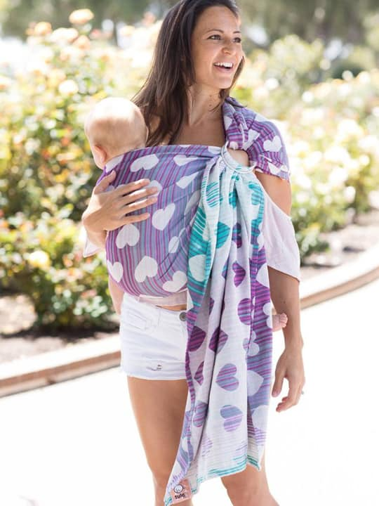 Tula Ring Sling Easy On Off Rings Slings For Babies