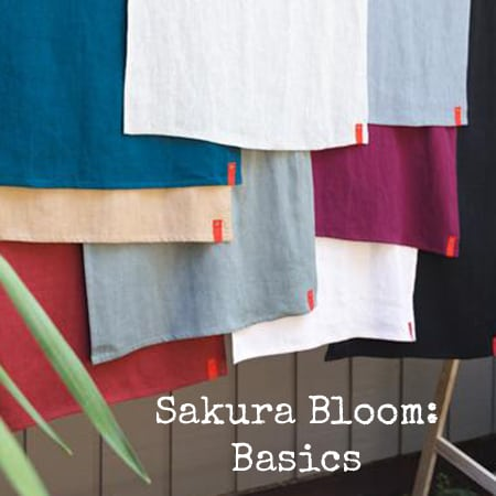 Basics Sakura Bloom | Sakura Bloom Basics Linen | Sakura Bloom Ring Slings