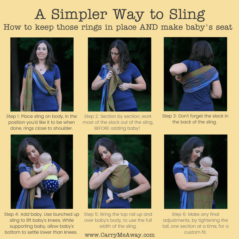 Tips for Adjusting your Ring Sling to keep the Rings in Position (2)