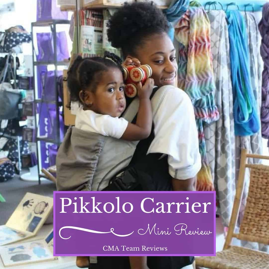 64fcc418b CMA Mini Review  Pikkolo Carrier by Catbird Baby - Carry Me Away