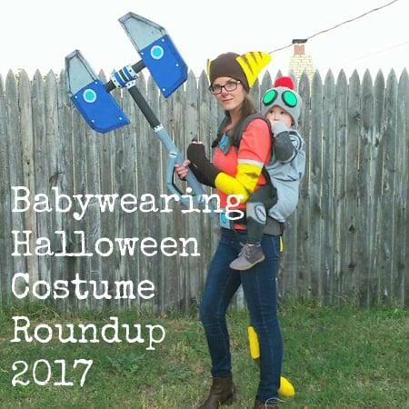 Babywearing Halloween Costume Roundup 2017