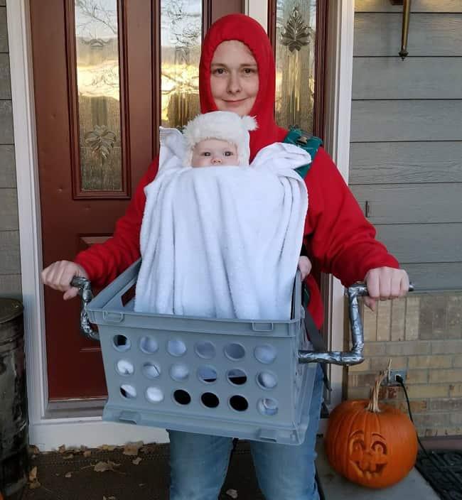 ET and Eliot- Babywearing Halloween Costume Roundup 2017