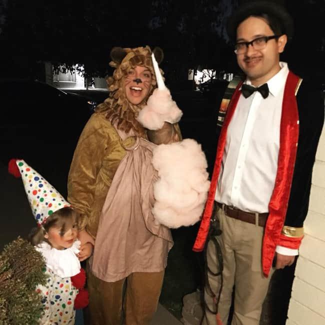 Circus Act Babywearing Halloween Costume Roundup 2017