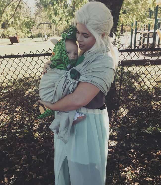 Mother-of-Dragons Babywearing Halloween Costume Roundup 2017